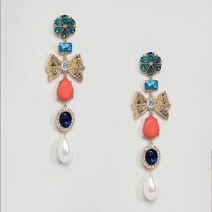 ASOS Occasion Tier Drop Earrings
